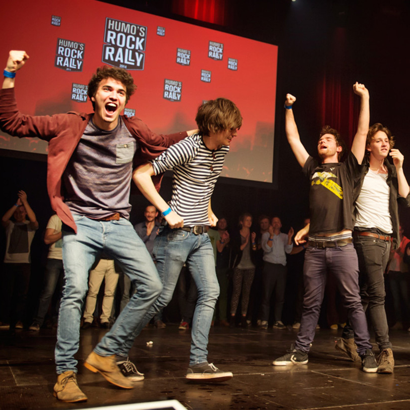 BEKEND: nieuwe data voor de halve finales en finale van Humo's Rock Rally!